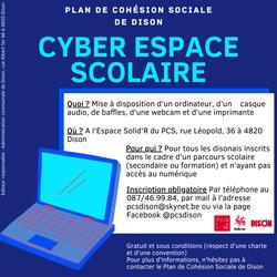 Un Cyber Espace Scolaire ouvert aux disonais