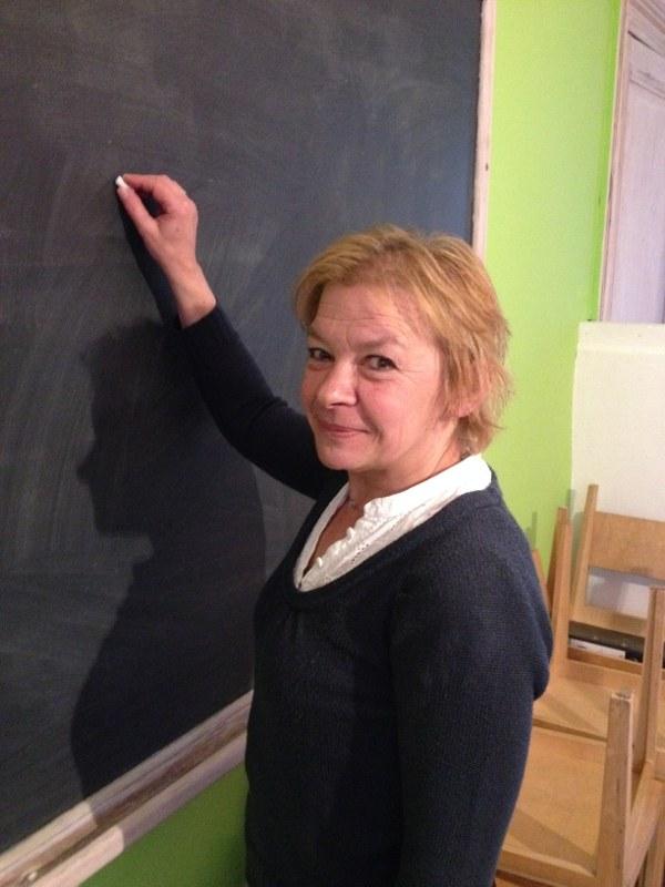 Christiane cours français-math.JPG