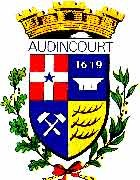 Blason Audincourt