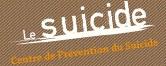Logo centre suicide